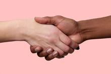 Horizontal Shot Of Handshake B...