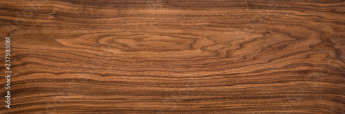 Poster Bois Walnut planks texture background.Walnut wood texture.