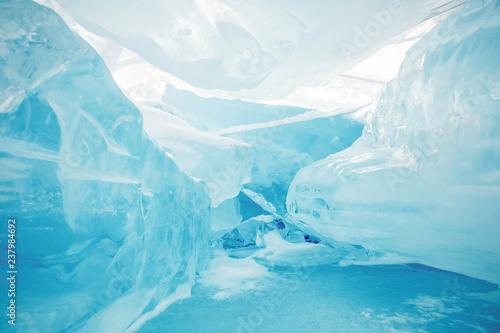 Photo iceberg in antarctica