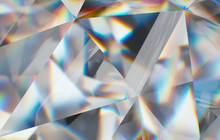 Diamond With Caustic Close Up ...