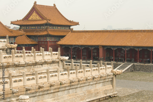 Foto op Canvas Aziatische Plekken Forbidden City, China, Beijing,