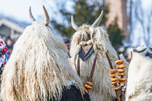 Traditional Participant Called Buso Of The Busojaras Event