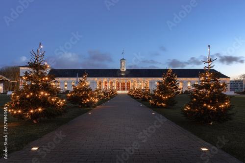Plakat Boże Narodzenie w Conversationshaus Norderney