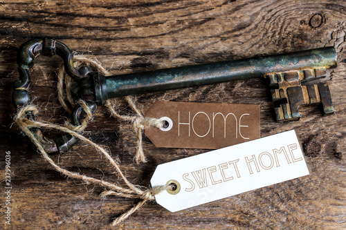 Valokuva  clés étiquettes : home sweet home