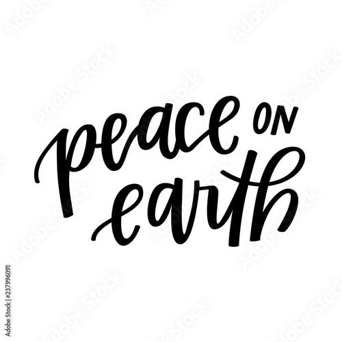 Stampa su Tela Peace on Earth