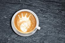 Teddy Bear Latte Art Coffee Cu...