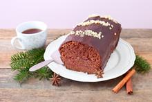 Schokoladen-Honigkuchen