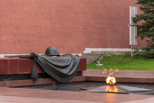 Eternal Flame At Tomb Of Unknown Soldier, Moscow, Russia