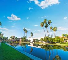 Balboa Park Under A Cloudy Sky In San Diego