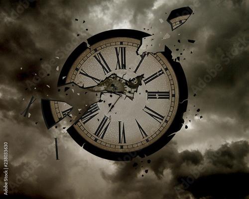 Running out of time Slika na platnu
