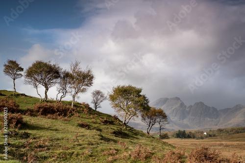 Staande foto Bleke violet Islye of Skye