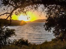 Sunset Over Lake Cachuma