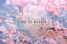 Christian Easter Background, R...