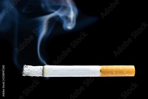 Fotografija  Cigarette smoke cigarette butt