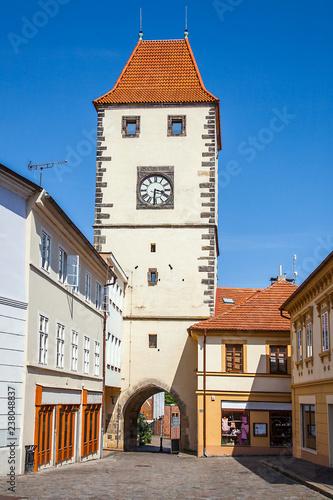 Fotografie, Obraz  Prague gate in Mělník Czech Republic Czech Republic
