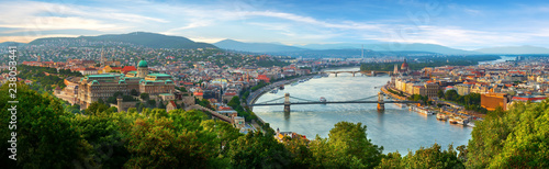 Photo Panoramic view on Budapest