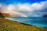Fototapeta Tęcza - Rainbow in Iceland