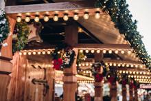 Illuminated Christmas Fairgrou...