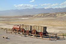 Historic Borax Wagons At Death...