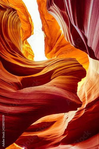 Poster Antilope Antelope Canyon in Arizona