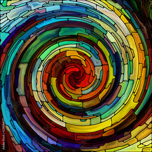Vision of Spiral Color