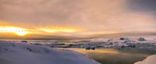 Winter Landscape Of The Antart...