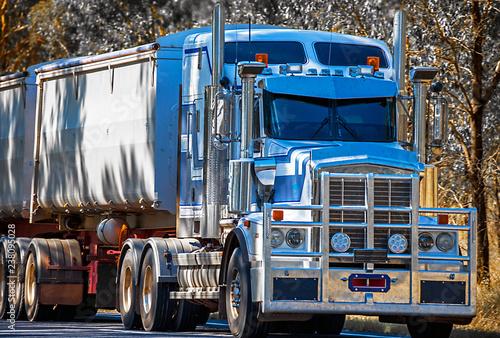 Australijska ciężarówka w Dubbo New South Wales Australia