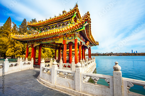 Canvas Prints Peking In the Beihai Park in Beijing China