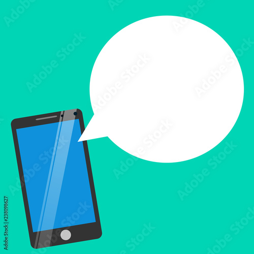 Flat Design Business Vector Illustration Empty Template Layout For