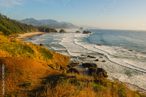 California Beach with Sea Stacks