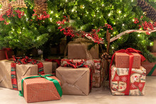 Christmas Presents Under A Bea...