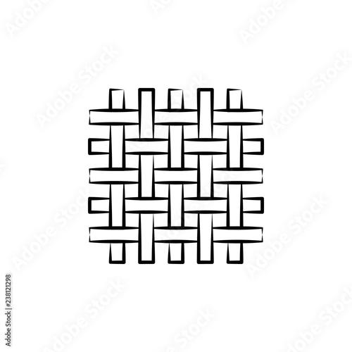 Canvastavla  Wool, weave icon