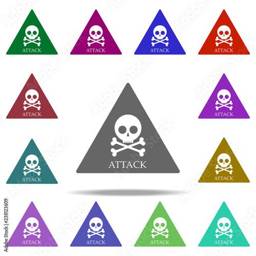 Fotografía  pirate attack icon