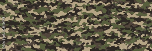 Valokuvatapetti Camouflage background. Seamless pattern.Vector. 迷彩パターン