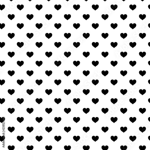 Modern Kids Seamless Pattern With Heart Black And White Cute Minimalistic Scandinavian Cartoon Elements On White Background Eps 10 Buy This Stock Vector And Explore Similar Vectors At Adobe Stock Adobe Stock