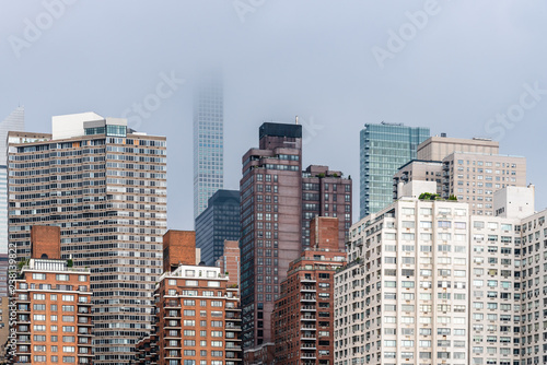 Fotografía  Skyline of Midtown of New York City