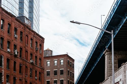 Photo  Manhattan Bridge from DUMBO in New York