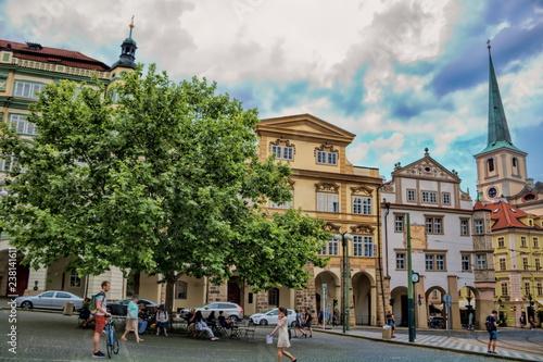 Spoed Foto op Canvas Centraal Europa Prag, Kleinseite