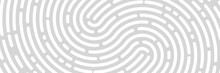 Fingerprint Background, Print, Banner