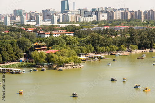 General view of Beijing, China