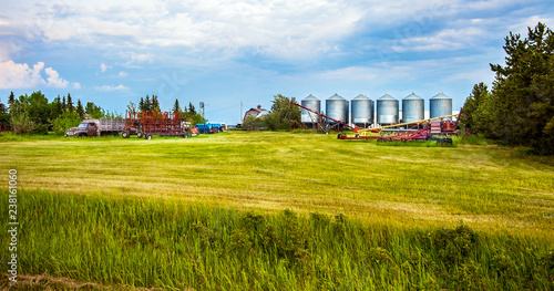 Slika na platnu Grande Prairie Alberta Canada on June 21, 2018