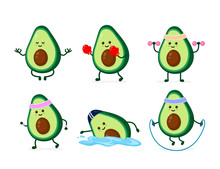 Cute Smiling Happy Strong Avoc...
