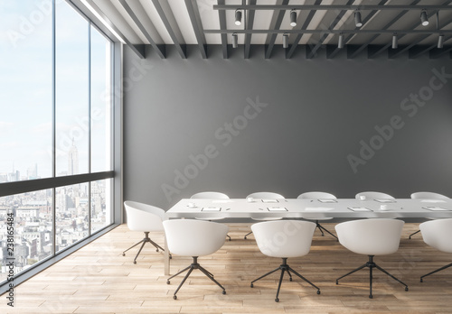 Obraz Creative meeting room interior - fototapety do salonu