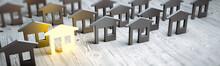 Real Estate Concept 3d Rendering