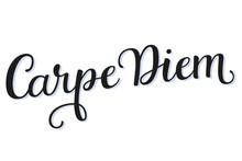 Carpe Diem Calligraphy Script