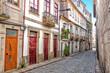 Doorways and Cobblestone, Vila Real, Portugal