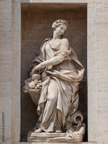 Fotografie, Obraz  Statue in Rom