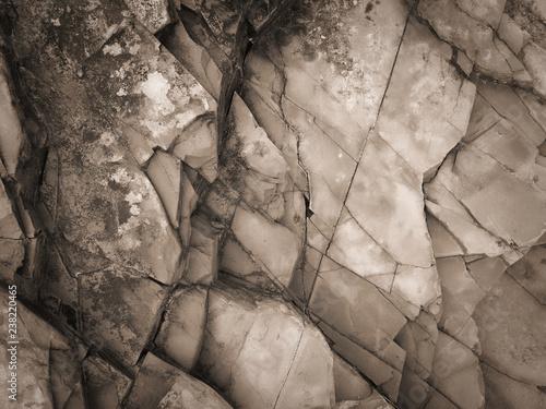 Foto auf Leinwand Texturen stone texture, stone background, black and white