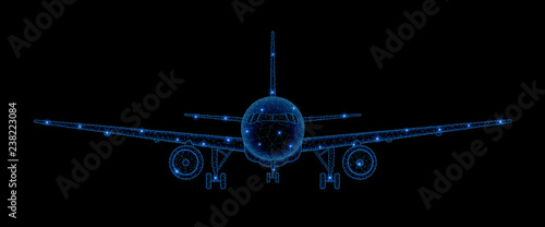 Photo Commercial airliner concept
