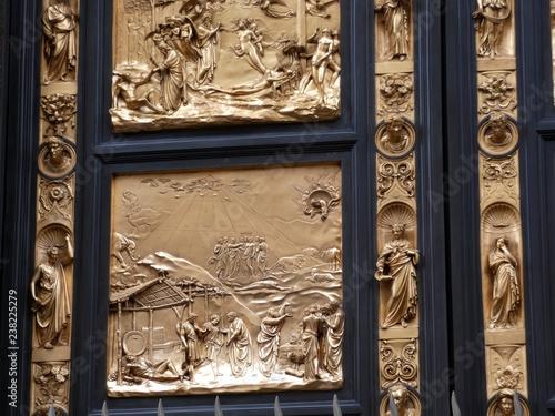 Fotografía  Puerta del Paraíso, la puerta este del Baptisterio de Florencia